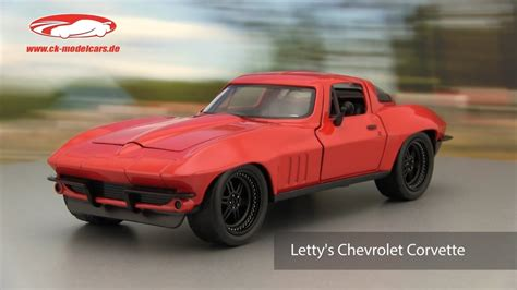 fast corvette ck modelcars letty s chevrolet corvette fast and