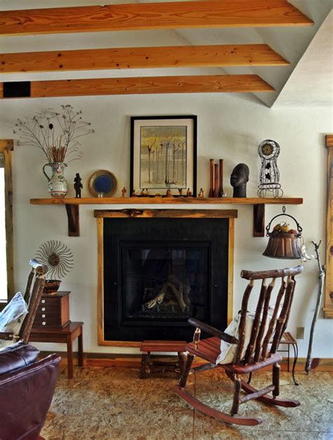 eclectic living room by two story cottage jan s cottage
