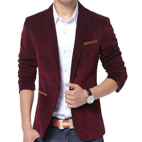 Wardrobe Brand Clothing by New Blazer 2015 Autumn Winter Fashion Mens Slim
