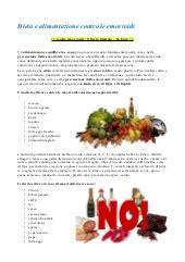 alimentazione per le emorroidi emorroidi cosa fare includere questi rimedi naturali per