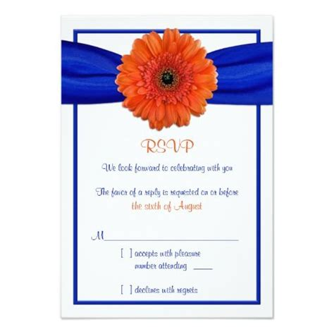 diy gerbera wedding invitations best 25 wedding reply cards ideas on wedding