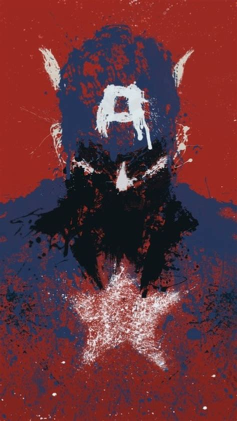 wallpaper iphone 5 captain america captain america art iphone 5 wallpaper 640x1136