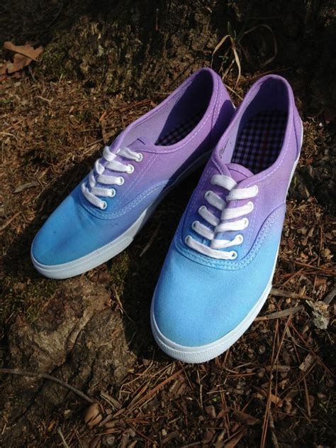 ombre shoes diy diy ombr 233 canvas shoes 20 diy makeover sneakers ideas