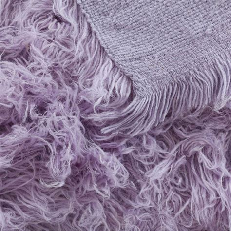 purple flokati rug buy flokati rug 1400g m2 140x200cm purple the real rug company