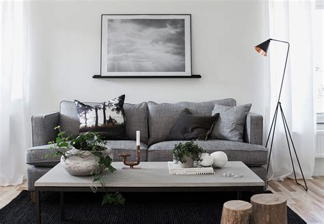 nordic style living room decordots two lovely apartments styled by daniella witte