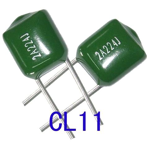 polyester capacitor manufacturer cl11 polyester capacitor sr china manufacturer capacitor electronic components