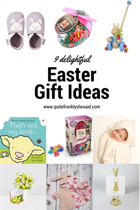 easter gift ideas 9 delightful easter gift ideas quite frankly she said