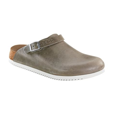 birkenstock philadelphia anti slip grey work shoes
