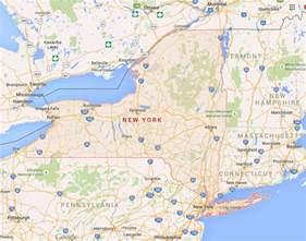 united states map new york new york counties map counties map of new york state usa