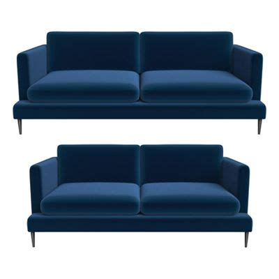 jasper conran sofas j by jasper conran 3 seater and 2 seater velvet ellsworth