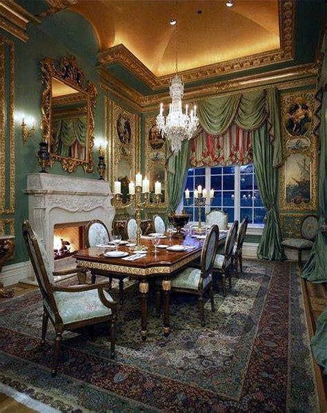 super creative green victorian dining room   omah
