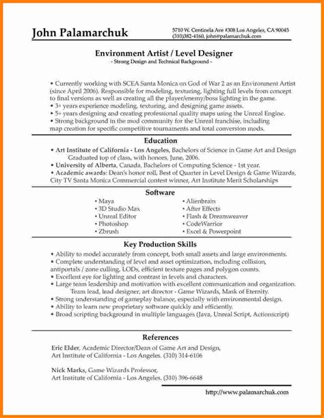 updated resume format ledger paper