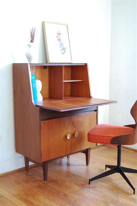 mid century secretary desk mid century secretary desk fits office with elegant hunter