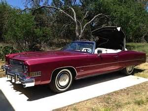 1974 Cadillac Eldorado Convertible For Sale Purchase Used 1974 Cadillac Eldorado Convertible Low