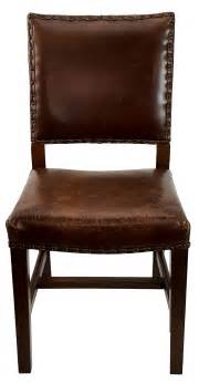 Antique Leather Dining Room Chairs Quot Antique Brown Leather Dining Room Chair Quot