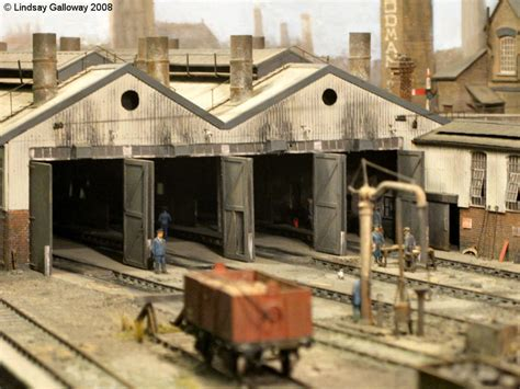 Railway Shed by Scalefour Society Model Railway Layout Maindee East