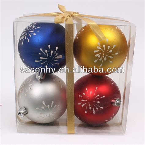 2016 large plastic baubles decorations christmas plastic
