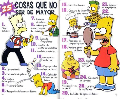 libro de bart el spanish guia para la vida por bart simpson
