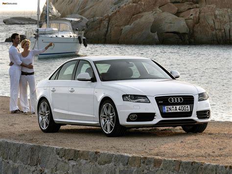 Audi A4 3.2 FSI quattro S Line Sedan B8,8K (2007?2011) wallpapers (1600x1200)