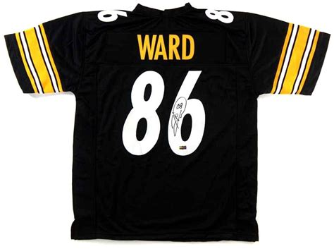 authentic black hines ward 86 jersey valuable p 283 hines ward signed jersey autographed authentic nfl jerseys