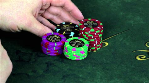 monaco million poker chips set initial impressions youtube
