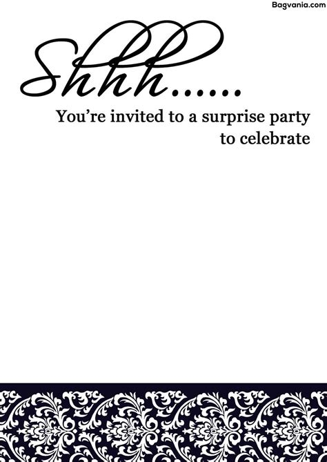surprise party invites surprise party invites and the invitations of