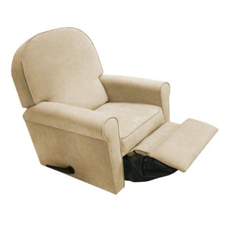 baby reclining chair glider the rockabye glider jayden recliner micro beige