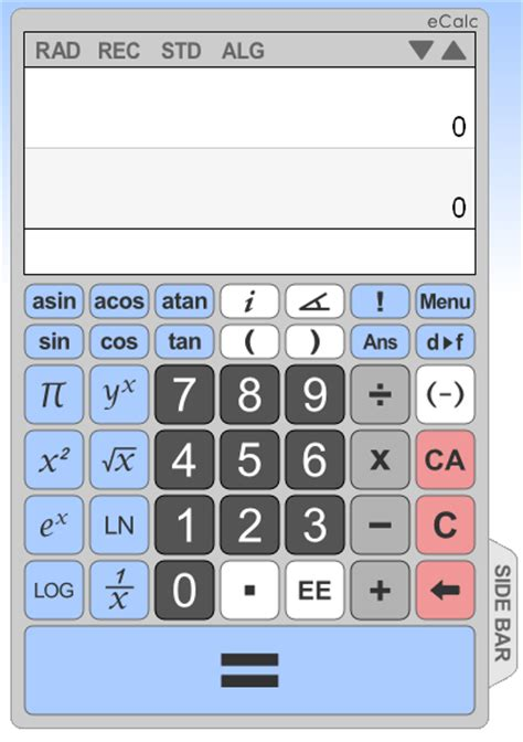 calculator online educational technology guy list of some free online