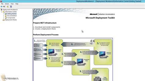 mdt tutorial windows 10 building a windows 10 reference image using mdt 2013 update 1