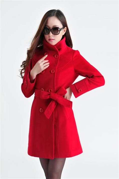 Jaket Wanita Panjang Coat Wanita Coat Panjang Autumn 1 jaket musim dingin big size coat jyb331105red coat korea