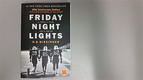friday lights book report twenty five years of friday lights buzz bissinger
