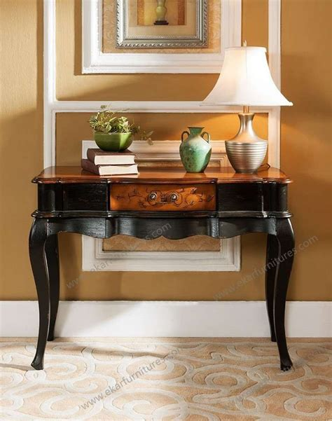 entry console console table rustic pine entry console table hallway