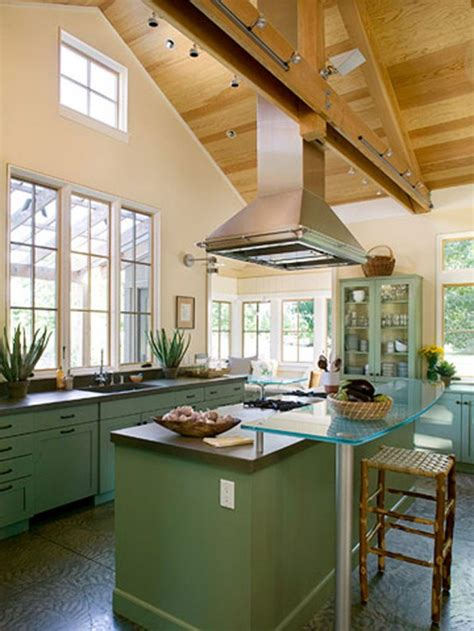 Vaulted Kitchen Ceiling Ideas Open Floor Plan Vaulted Ceiling Kitchen Living Room