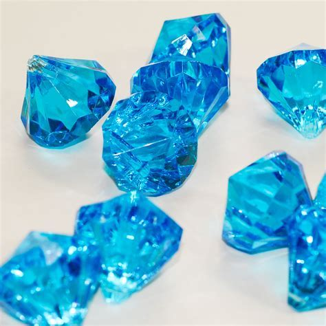 Assorted Pirate Gems large Acrylic Diamond table scatter