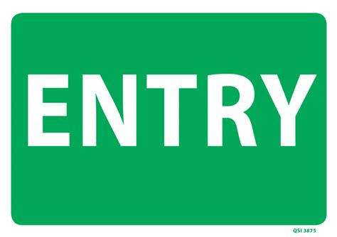 Entryway Signs large entry sign industrial signs