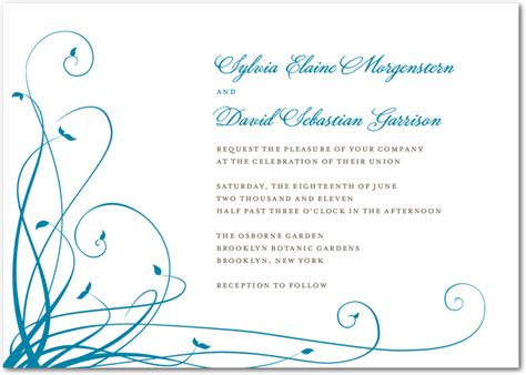 Simple Wedding Invitation Card by Simple Invitation Cards Weddings To Remember