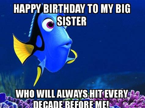 Happy Birthday Meme Sister - happy birthday sister meme happy birthday