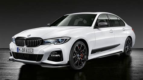 Bmw 3 Series 2019 Usa by 2019 Bmw 3 Series Shows Its Sporty M Performance Parts