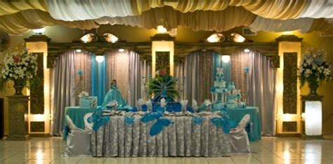 beautiful quinceanera table backdrop quinceanera