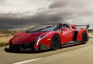 How Much Are Lamborghini Veneno The 2014 Lamborghini Veneno Roadster Expensive Open Air