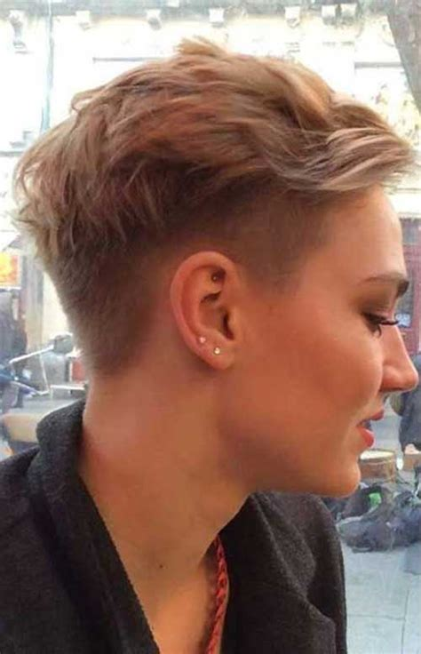 pixie hair for 26 years old 40 half shaved pixie cut pixie cut 2015