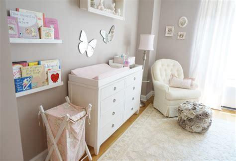 Pink Grey Rug Pink Ivory And Grey Twin Girls Nursery Project Nursery