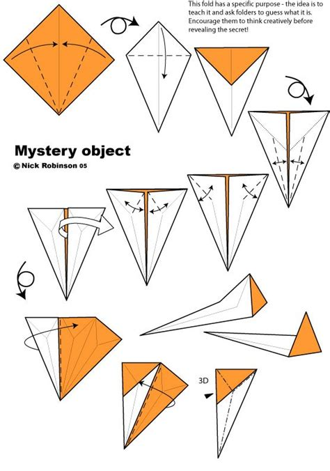 Nick Robinson Origami - origami mystery object by nick robinson