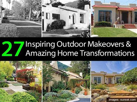 home transformations 27 inspiring outdoor makeovers amazing home