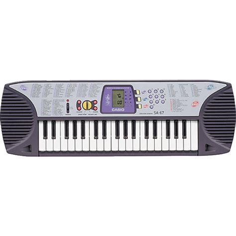 Keyboard Casio Mini casio sa 67 37 key mini keyboard musician s friend