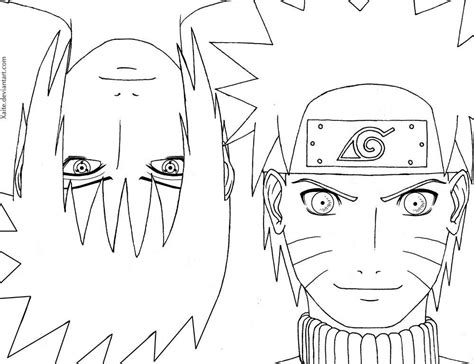 theme line naruto cool naruto coloring pages to color http www