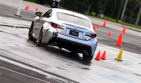 we attended the lexus performance driving school