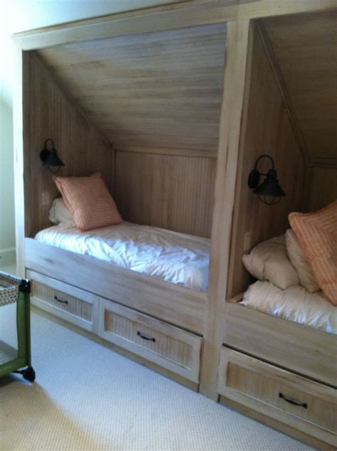 beds for attic rooms antique distressed built in daybed with trundle beds for attic rooms vendermicasa