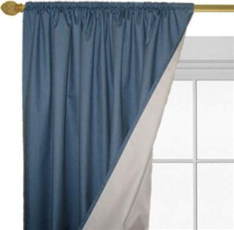 Roc Lon Magnetic Closure Denimtone Blackout Curtain Panel