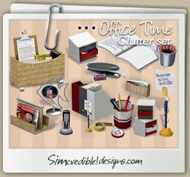 office clutter sims 4 cc simcredible designs 3 top quality content for sims